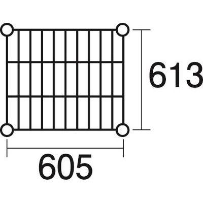その他 ステンレスエレクター 棚 SLS610 KND-137048