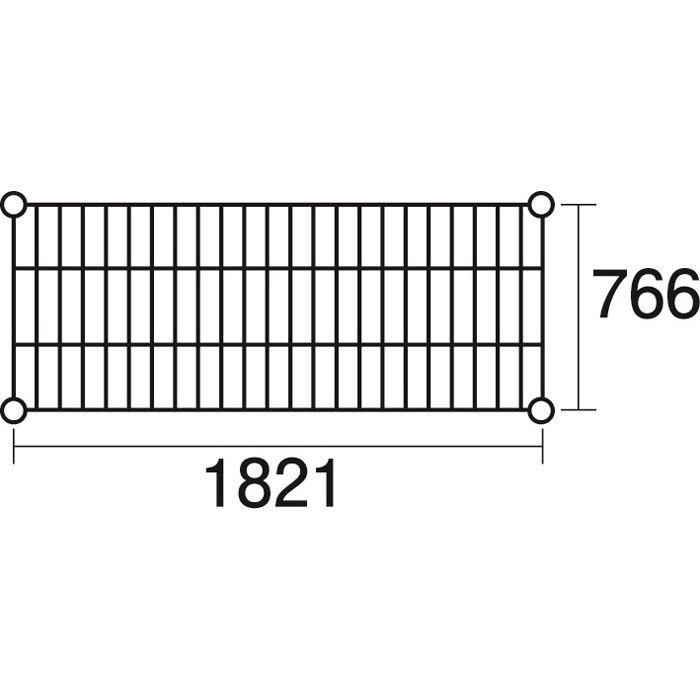 その他 ステンレスエレクター 棚 SLMS1820 KND-137120