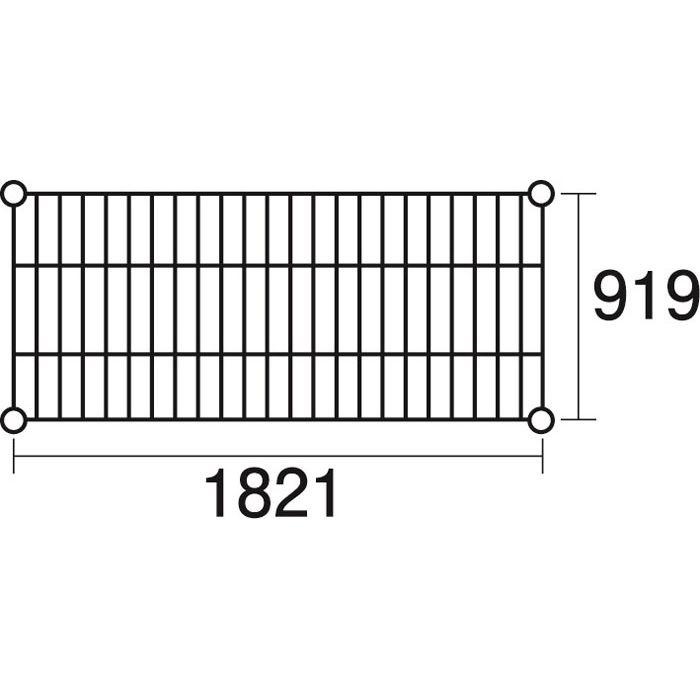 その他 ステンレスエレクター 棚 SLLS1820 KND-137124