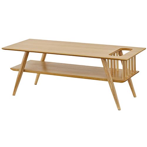 東谷(あづまや) 棚付センターテーブル SOT-105NA