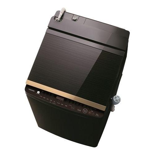 東芝 タテ型洗濯乾燥機 (洗濯脱水10kg / 乾燥5kg) グレインブラウン AW-10SV8-T【納期目安:約10営業日】