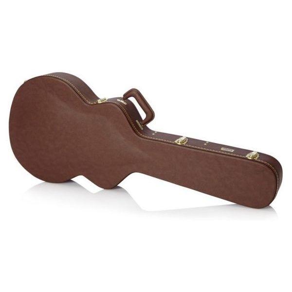 Gator Cases セミホロウ・ギター・デラックス・ウッド・ケース GW-335-BROWN