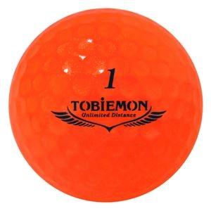 その他 6箱セット(1箱12球入り) TOBIEMON 超高性能3ピース PREMIUM-3 スパークルオレンジ ダース T-B3DOX6 ds-2188213