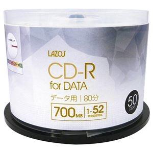 その他 10個セット Lazos データ用 CD-R 50枚組 L-CD50PX10 ds-2188542