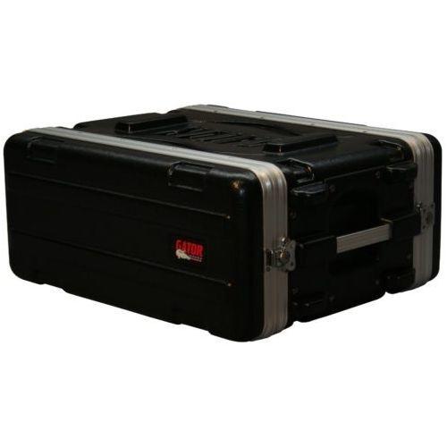 Gator Cases ラックケース 軽量PE製 Standard Molded Rack Case Series 4U/ショートサイズ (マウント用ネジ/ワッシャー付属) GR-4S