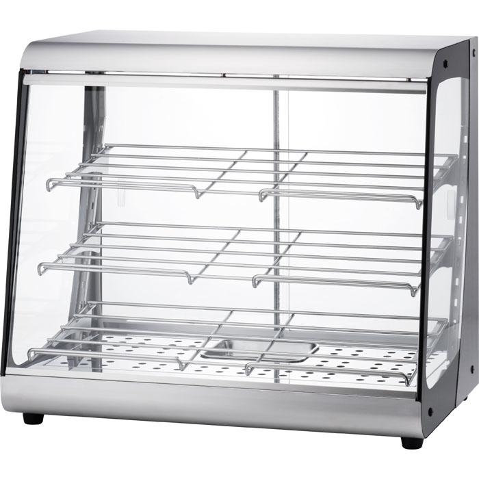 タイジ 視認性の高いクリアなガラスで、商品をよりおいしく魅せる温蔵ショーケースス タイリッシュウォーマー OSL-600S