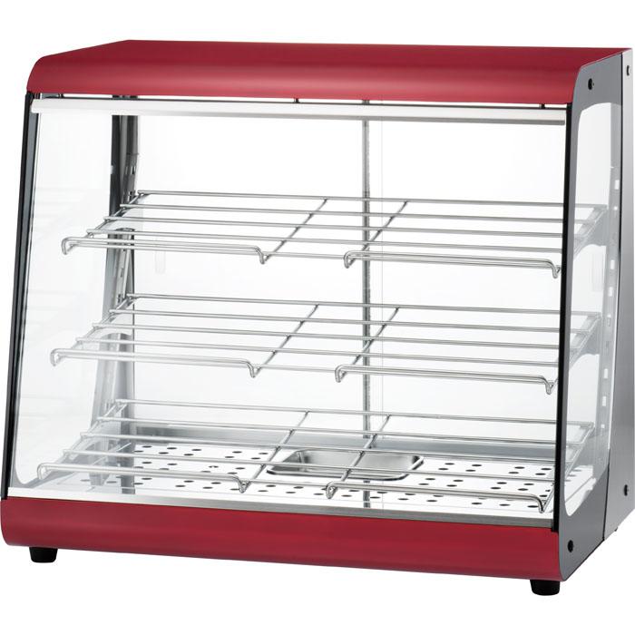 タイジ 視認性の高いクリアなガラスで、商品をよりおいしく魅せる温蔵ショーケースス タイリッシュウォーマー OSL-600R