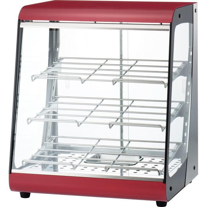 タイジ 視認性の高いクリアなガラスで、商品をよりおいしく魅せる温蔵ショーケースス タイリッシュウォーマー OSL-450R