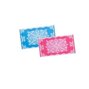 その他 今治産ハワイアン柄タオルケット 2色組ピンク&ブルー【代引不可】 ds-2194647