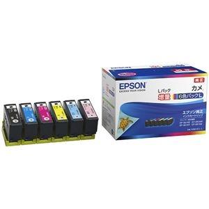 その他 エプソン カラリオプリンター用 インクカートリッジ/カメ(増量6色パック) ds-2197187