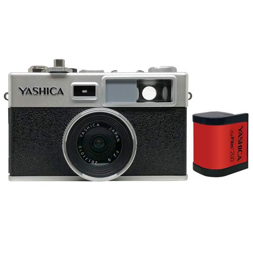 【送料無料】デジフィルムカメラ Y35 with digiFilm200セット (YASDFCY35P38) YASHICA デジフィルムカメラ Y35 with digiFilm200セット YAS-DFCY35-P38