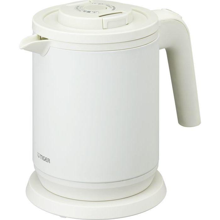 タイガー 蒸気レス電気ポット(マットホワイト) PCK-A080-WM