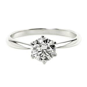 その他 ダイヤモンド リング 一粒 1カラット 14号 プラチナPt900 Hカラー SI2クラス Excellent エクセレント ダイヤリング 指輪 大粒 1ct 鑑定書付き ds-2199490