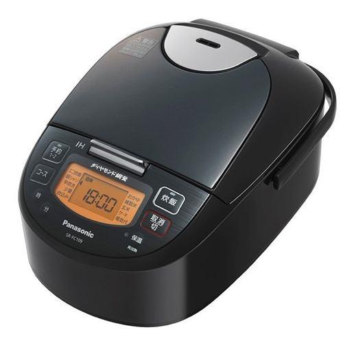 パナソニック IHジャー炊飯器 1升 1升 ステンレスブラック SR-FC189-K【納期目安:09/1発売予定】, 家具の東金:fa31a038 --- officewill.xsrv.jp