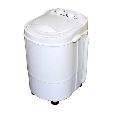 ダイアモンドヘッド ROOMMATE 洗いブラシ付きポータブル洗濯機「ブラシ de アライ」 RM-85MK