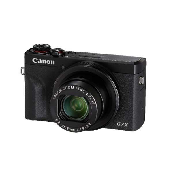 キヤノン デジタルカメラ PowerShot G7 X Mark III (ブラック) PSG7X-MARKIII-BK【納期目安:2週間】