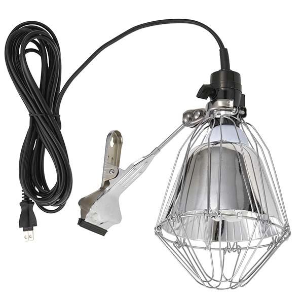 オーム電機 【LED電球13W付属】反射板付き 屋内専用ガードライト(コンセント差し込み口付/コード長5m) LT-S13RF