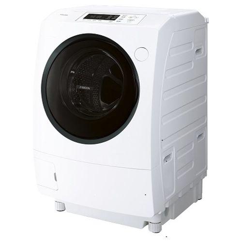 東芝 ドラム式洗濯乾燥機 ZABOON(ザブーン) (洗濯9.0kg /乾燥5.0kg/左開き) グランホワイト TW-95G8L-W【納期目安:3週間】