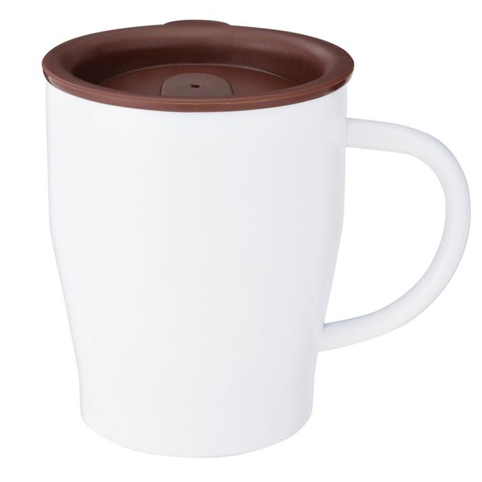 その他 【72個セット】真空ステンレスマグカップ(ホワイト) 2700221