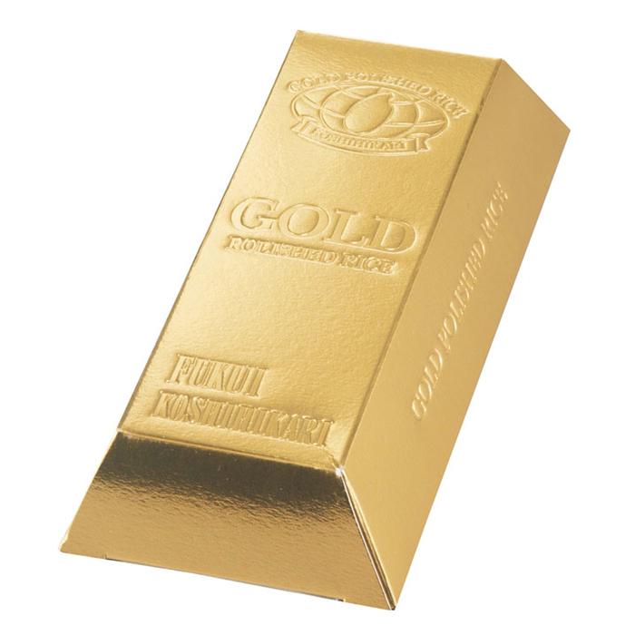 その他 【100個セット】ゴールドバーお米ボックス1合 2475044