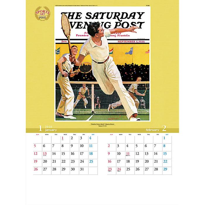 その他 【100個セット】カレンダー スポーツ・アート 2911805