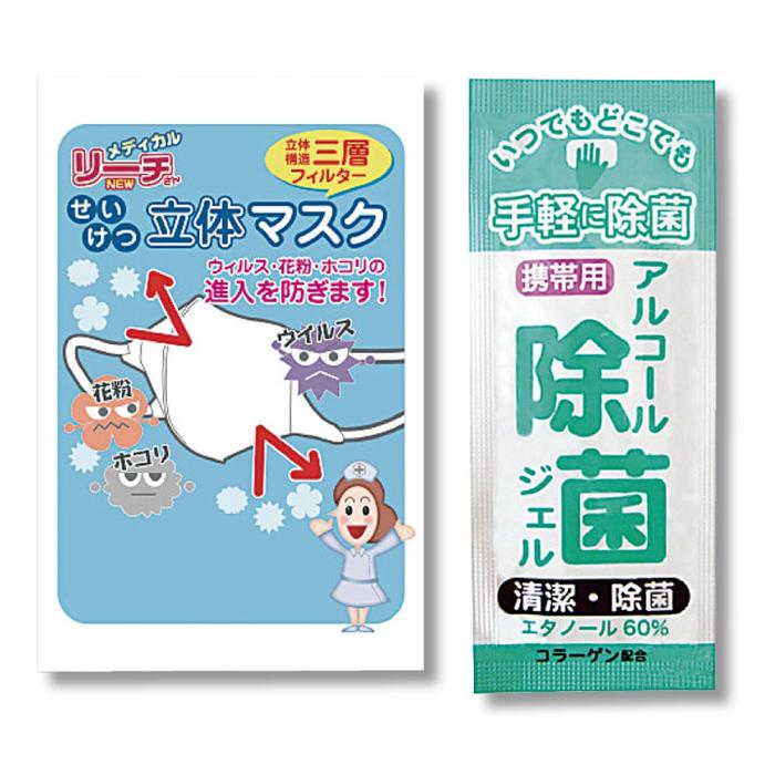 その他 【300個セット】衛生対策予防セット 2214337