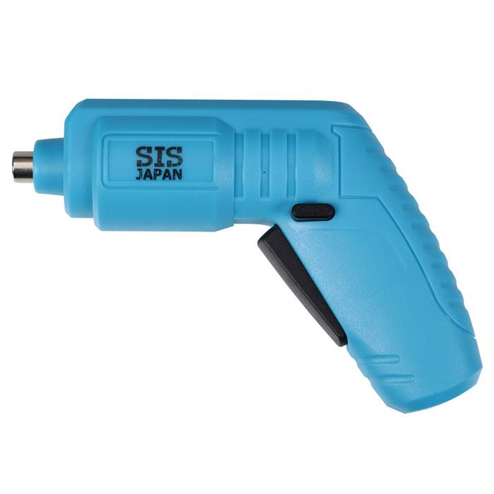 その他 【20個セット】USB充電式電動ドライバー1台(ブルー) 2214407