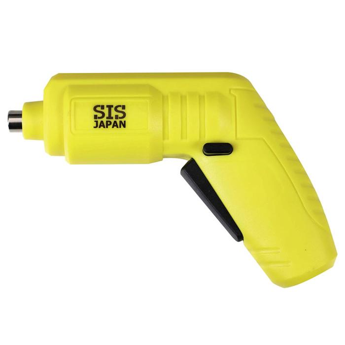 その他 【20個セット】USB充電式電動ドライバー1台(イエロー) 2214408