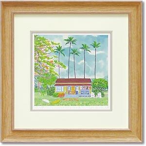 その他 くりのきはるみ ジグレーアートフレーム KH-10126 ハワイアンハウス ds-2198736
