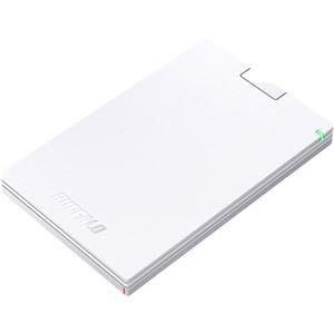 その他 (まとめ)バッファロー MiniStationUSB3.1(Gen.1)対応 ポータブルHDD 500GB ホワイト HD-PCG500U3-WA 1台【×3セット】 ds-2214391