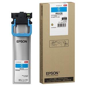 その他 (まとめ)エプソン インクパック シアンIP01CB 1個【×3セット】 ds-2215006