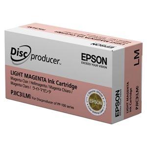 その他 (まとめ)エプソン インクカートリッジライトマゼンタ PJIC3LM 1個【×3セット】 ds-2215064