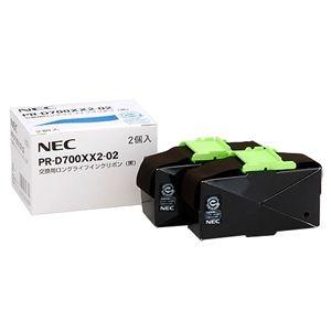 その他 (まとめ)NEC 交換用ロングライフインクリボン 黒 PR-D700XX2-02 1箱(2本)【×3セット】 ds-2215186