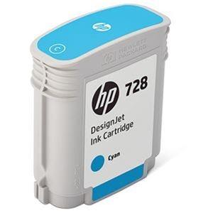 その他 (まとめ)HP HP728 インクカートリッジシアン 40ml F9J63A 1個【×3セット】 ds-2215188