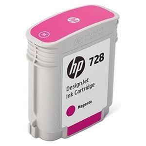 その他 (まとめ)HP HP728 インクカートリッジマゼンタ 40ml F9J62A 1個【×3セット】 ds-2215189