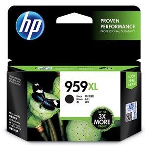 その他 (まとめ)HP HP959XL インクカートリッジ黒 増量 L0R42AA 1個【×3セット】 ds-2215207