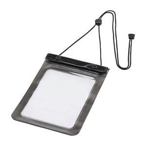 その他 (まとめ)サンワサプライ タブレットPC防水ケース7型 ストラップ付 PDA-TABWP7 1個【×3セット】 ds-2215378
