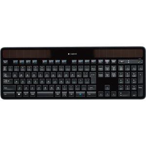 その他 (まとめ)ロジクール ワイヤレスソーラーキーボード k750r ブラック K750r 1台【×3セット】 ds-2215437