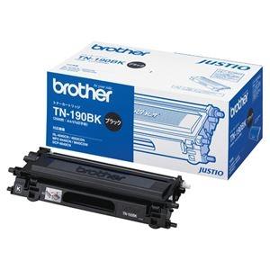 その他 (まとめ)ブラザー BROTHER トナーカートリッジ 黒 TN-190BK 1個【×3セット】 ds-2215837