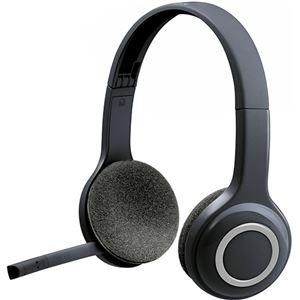 その他 (まとめ)ロジクール ワイヤレスヘッドセットH600 ブラック H600R 1台【×3セット】 ds-2216393