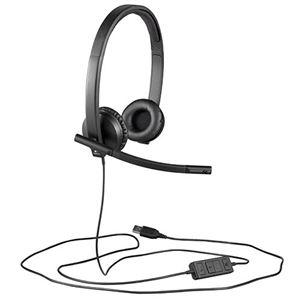 その他 (まとめ)ロジクール USBヘッドセットH570e ブラック H570e 1個【×3セット】 ds-2216419