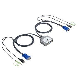 その他 (まとめ)サンワサプライ パソコン自動切替器(2:1) SW-KVM2AUUN 1台【×3セット】 ds-2216618