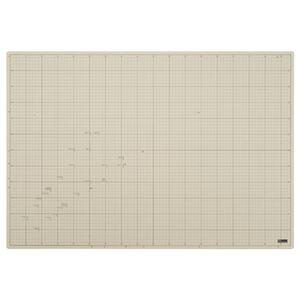 その他 (まとめ)TANOSEE 滑りにくいカッターマット A1 620×900mm 1枚【×3セット】 ds-2216794