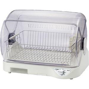 その他 (まとめ)タイガー魔法瓶 食器乾燥機サラピッカDHG-T400W 1台【×3セット】 ds-2217068