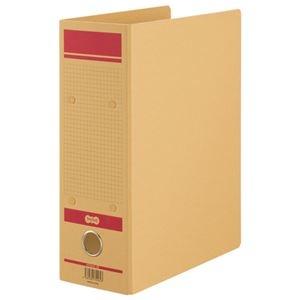 その他 (まとめ)TANOSEE保存用ファイルN(片開き) A4タテ 800枚収容 80mmとじ 赤 1セット(24冊)【×3セット】 ds-2217120