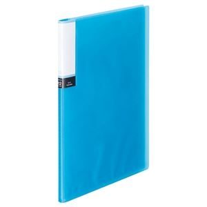 その他 (まとめ)TANOSEE クリアブック(透明表紙) A4タテ 12ポケット ブルー 60冊【×3セット】 ds-2217199