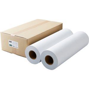 その他 (まとめ)TANOSEEPPC・LEDプロッタ用普通紙 A1ロール 594mm×200m 3インチ紙管 素巻き 1箱(2本)【×3セット】 ds-2217489