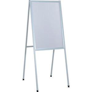その他 (まとめ)ライトベスト アルミ製案内版 片面 黒板MA23W 1台【×3セット】 ds-2219037