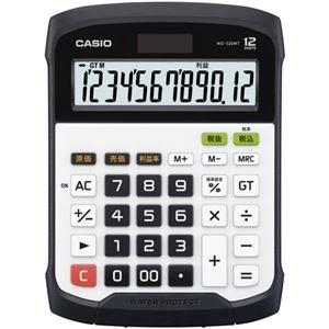 その他 (まとめ)カシオ 防水・防塵電卓 12桁デスクサイズ WD-320MT-N 1台【×3セット】 ds-2219150