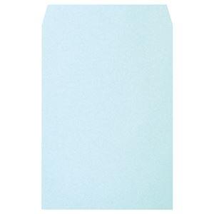 その他 (まとめ)透けないカラー封筒ワンタッチテープ付 角2 パステルブルー 100枚入×5パック【×3セット】 ds-2219218